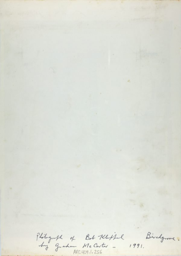 An image of Robert Klippel at Birchgrove