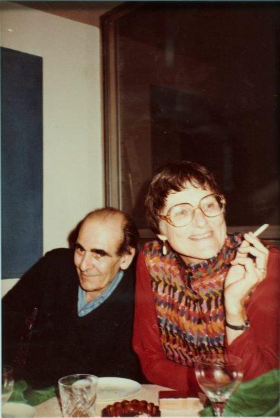 An image of Robert Klippel and Rosemary Madigan by