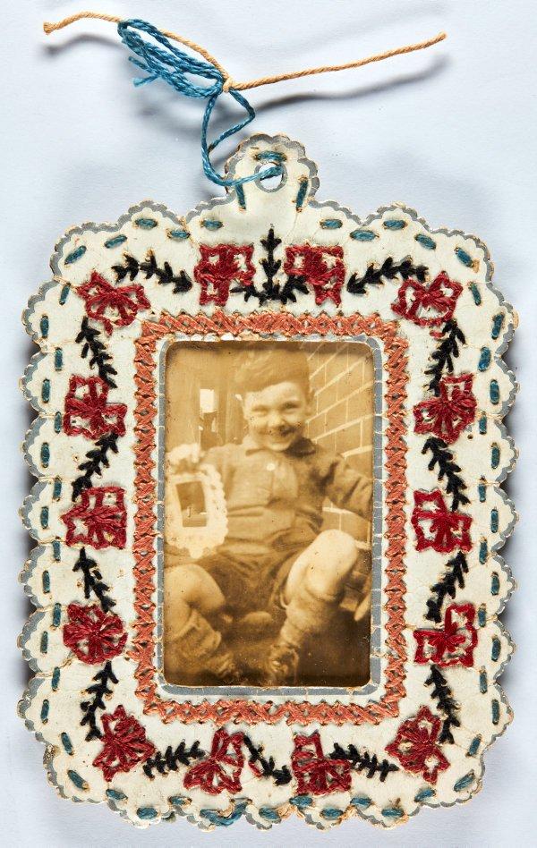 An image of Robert Klippel at age 5