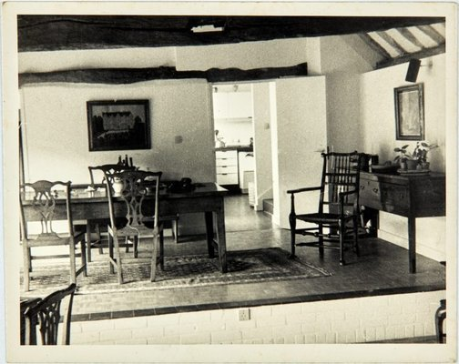 An image of Eating area of living room looking towards kitchen by Robert Klippel