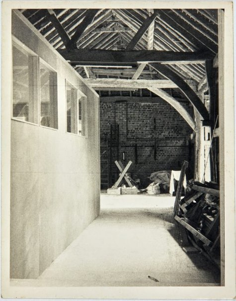 An image of Other end of barn looking out of studio door by Robert Klippel