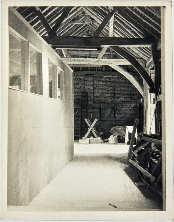 An image of Other end of barn looking out of studio door