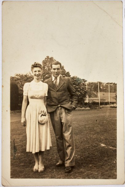 An image of Robert Klippel with Betty Gibson by Unknown