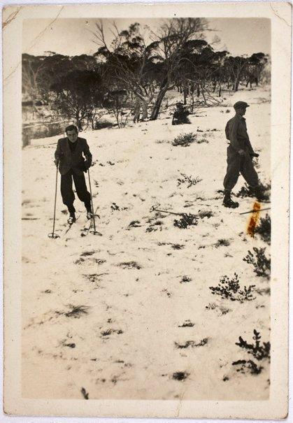 An image of Robert Klippel at Mount Kosciuszko by Unknown