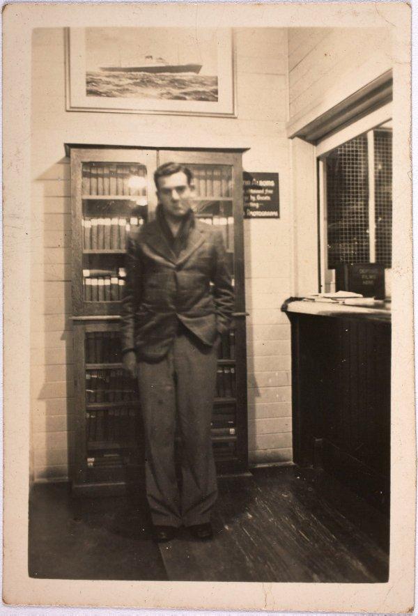 An image of Robert Klippel at the Hotel Kosciuszko