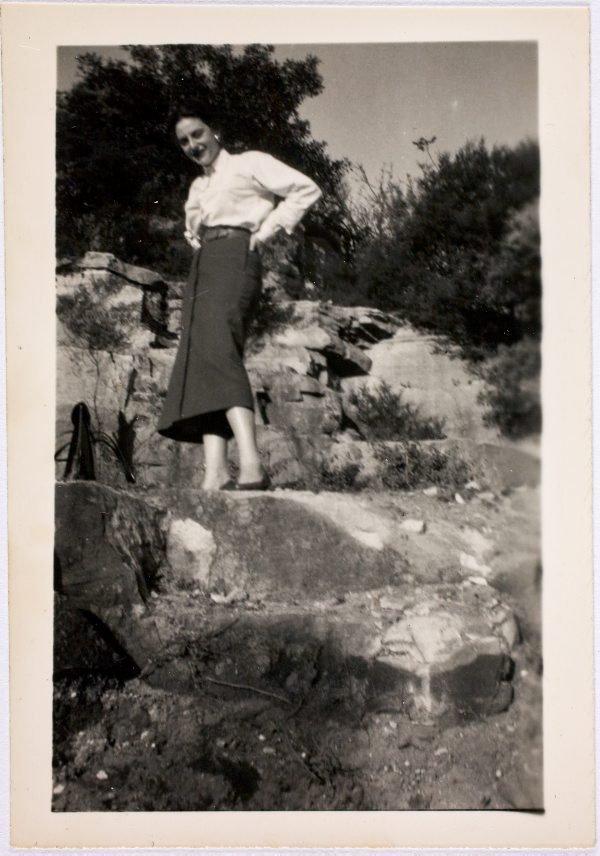 An image of Nina Mermey in the garden