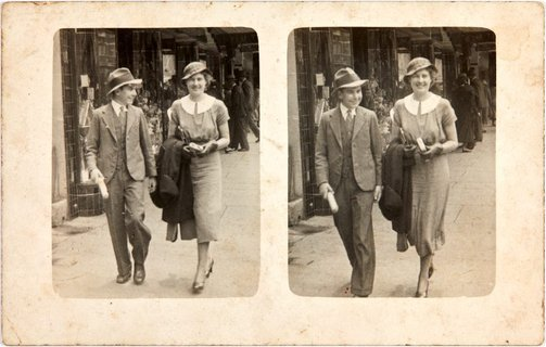 An image of Robert Klippel and Ellie in Wellington, New Zealand by Unknown