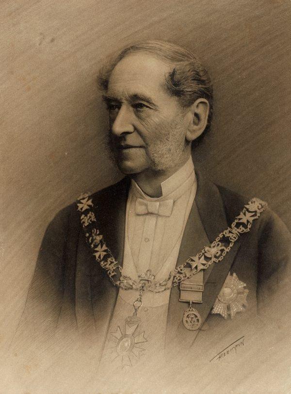 An image of Sir Alfred Stephen CB, GCMG, MLC