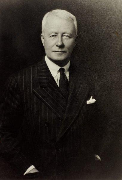 An image of Sir Charles Lloyd Jones by Monte Luke