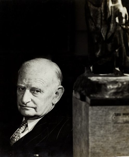 An image of Professor E. G. Waterhouse by Max Dupain