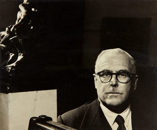 An image of H. F. Heath by Max Dupain