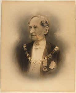An image of Sir Alfred Stephen CB, GCMG, MLC by Freeman Brothers