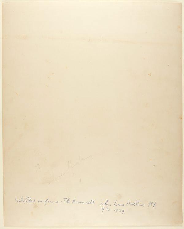 An image of The Honourable John Lane Mullins