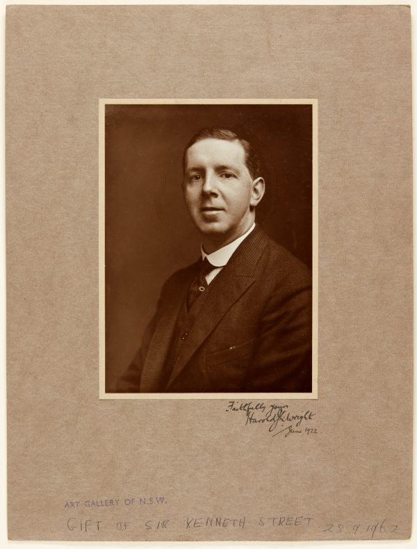 An image of Harold J. Wright
