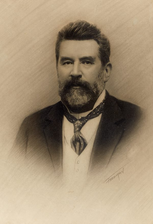 An image of Edward Combes CMG, MLC