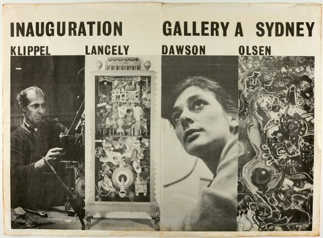 An image of Inaugural exhibition at Gallery A, Sydney