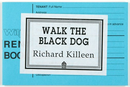 An image of Walk the black dog by Richard Killeen