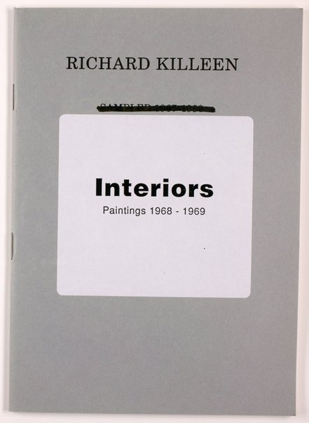 An image of Interiors: paintings 1968-1969 by Richard Killeen