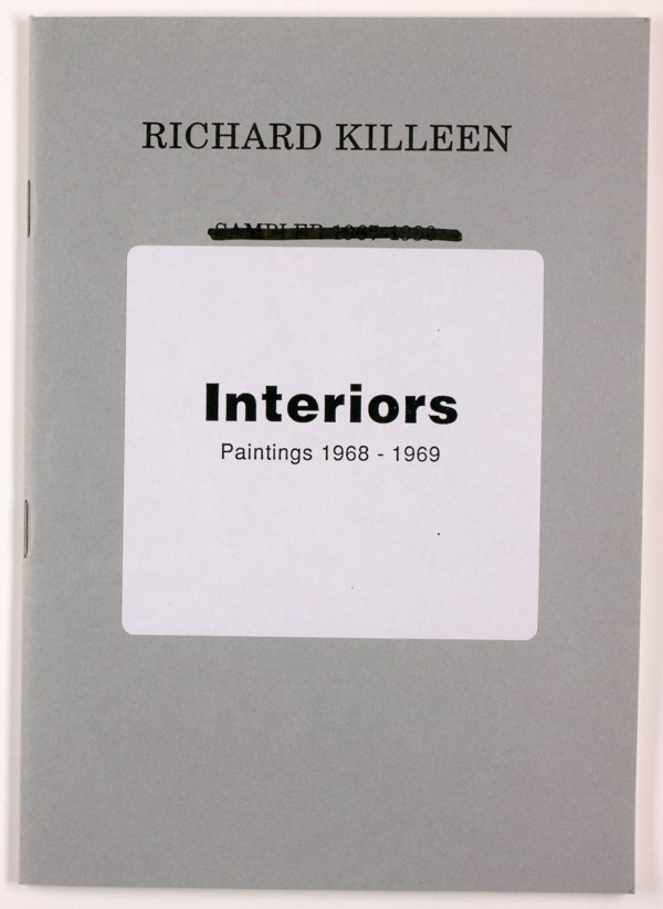 An image of Interiors: paintings 1968-1969