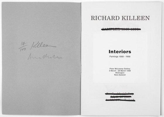 Alternate image of Interiors: paintings 1968-1969 by Richard Killeen