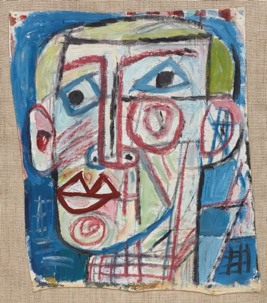 An image of Untitled (Self portrait)
