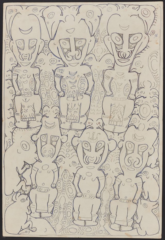 An image of Ancestor and spirit figures