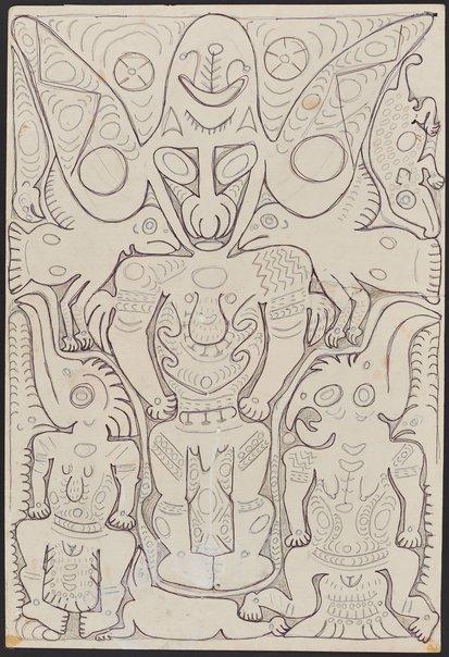 An image of The spirit Yanmari by Simon Nowep