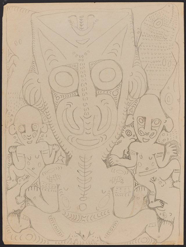 An image of Ancestral and mythical figures