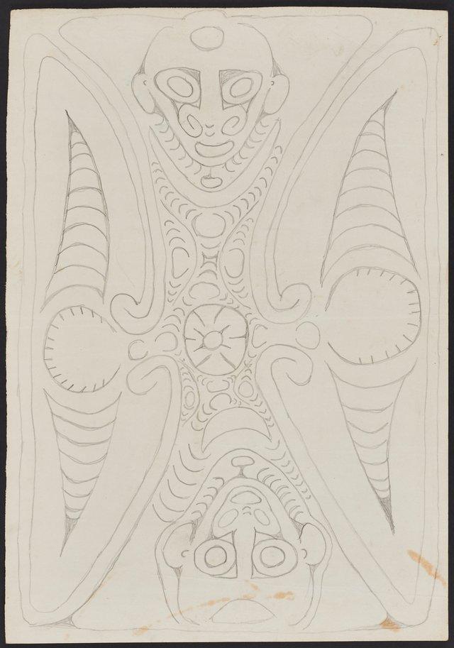 An image of Kaplap, a spirit associated with butterflies