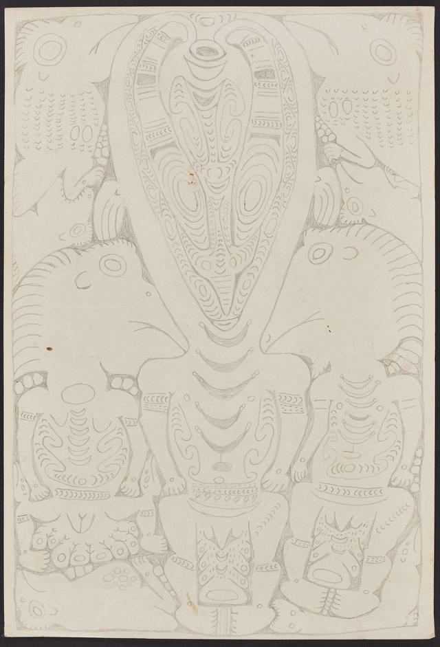 An image of Yapon, a spirit figure