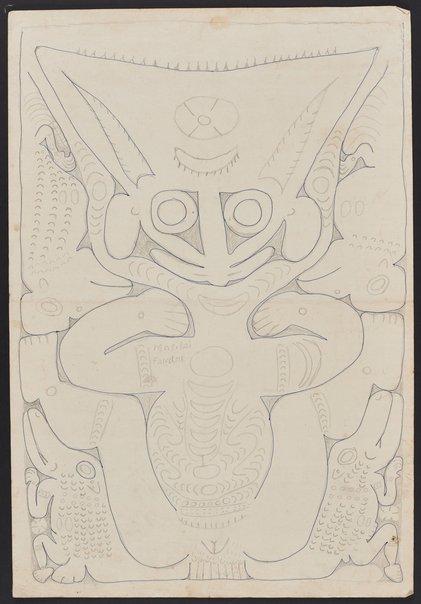 An image of Pandame, a spirit figure by Simon Nowep