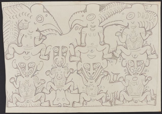 An image of Deman and konyim spirits