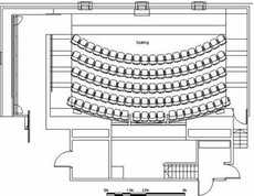 Centenary Auditorium floorplan