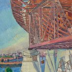 Image: Grace Cossington Smith The curve of the bridge 1928-29 (detail)