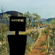 Image: Sidney Nolan First-class marksman 1946 (detail) from cover of Barry Pearce's 100 moments in Australian painting