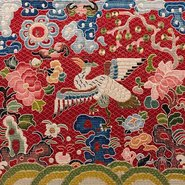 Image: Unknown Artist Civil rank badge, 8th rank (Mandarin duck insignia) 1850-75 (detail), Art Gallery of New South Wales