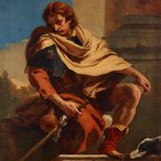 Image: Giambattista Tiepolo, Saint Roch 1730-1735 (detail) Art Gallery of New South Wales, Gift of J S Heron 1912