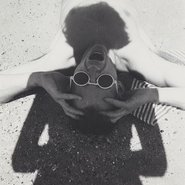 Image: Olive Cotton The photographer's shadow (detail), 1935, printed 1983-1985 gelatin silver photograph, 8.2 × 8 cm, Art Gallery of New South Wales, accessioned 2013