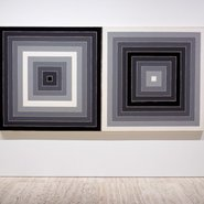 Image: Frank Stella Untitled 1965 (detail), Art Gallery of New South Wales © Frank Stella/ARS. Licensed by Visopy, Sydney