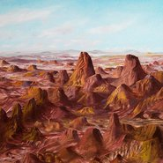 Image: Sidney Nolan Central Australia 1950 (detail), Art Gallery of New South Wales © AGNSW