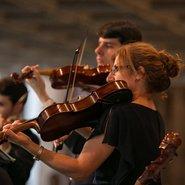 Image: Members of the Australian Brandenburg Orchestra