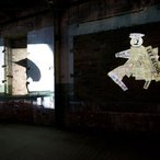 William Kentridge I am not me, the horse is not mine 2008, installation view at Cockatoo Island for the 16th Biennale of Sydney © William Kentridge. Courtesy the artist; Marian Goodman Gallery, New York and Paris; Goodman Gallery, Johannesburg; and Annandale Galleries, Sydney