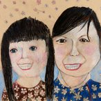 Image: Scarlett Li My mum and me (detail) Young Archie 2019 finalist