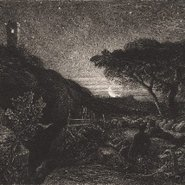 Image: Samuel Palmer The lonely tower 1879 (detail)
