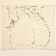 Image: Brett Whiteley Woman under the shower (1976) gift of the Art Gallery Society of New South Wales 1994 ©Wendy Whiteley