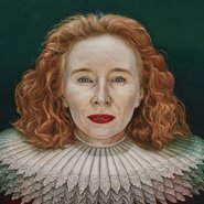 Image: Paul Jackson Alison Whyte, a mother of the renaissance, Archibald Prize 2018 finalist (detail)