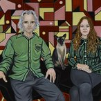Image: Marina Finlay Peter, Coco and Susan O'Doherty (detail), Archibald Prize 2018 finalist