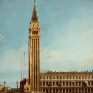 Image: Canaletto The Piazza San Marco, Venice 1742-46 (detail), oil on canvas, 67.5 × 119 cm Art Gallery of New South Wales Gift of James Fairfax AC 1996