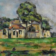 Image: Paul Cézanne Banks of the Marne c1888 (detail)