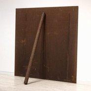 Image: Richard Serra Plate, pole, prop 1969, 1983, Art Gallery of NSW collection © Richard Serra. ARS/Licensed by Viscopy, Sydney